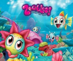 Seagonia, the sea of the Zoobles puzzle