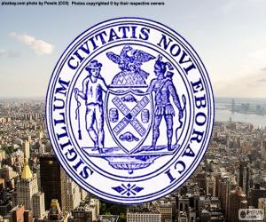 Seal of New York City puzzle