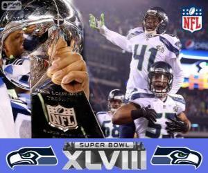 Seattle Seahawks, Super Bowl 2014 Champions puzzle