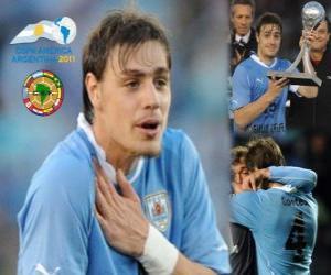 Sebastian Coates best revelation Copa America 2011 puzzle