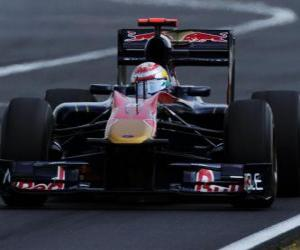 Sebastien Buemi - Toro Rosso - Hungaroring 2010 puzzle
