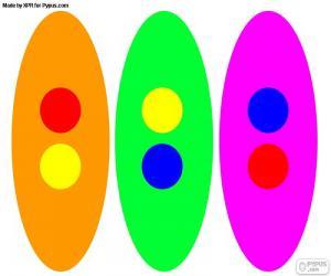 Secondary colors puzzle