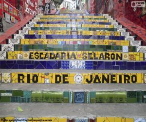 Selarón's Steps, Brazil puzzle