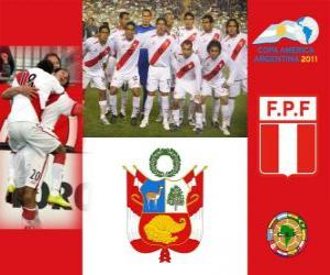 Selection of Peru, Group C, Argentina 2011 puzzle