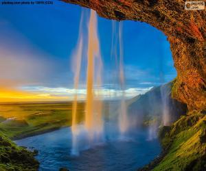Seljalandsfoss, Iceland puzzle