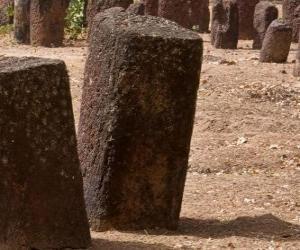 Senegambian stone circles, Gambia and Senegal puzzle