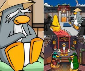 Sensei is a very wise penguin living in the Dojo and teaches them to be ninja penguins puzzle