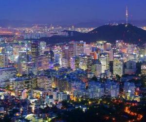 Seoul, South Korea puzzle
