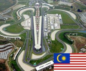 Sepang International Circuit - Malaysia - puzzle