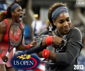Serena Williams 2013 US Open Champion puzzle