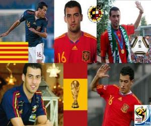 Sergio Busquets (El Badia octopus) Spanish National Team Midfielder puzzle