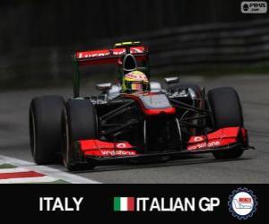Sergio Perez - McLaren - Monza, 2013 puzzle