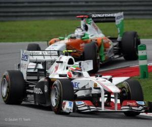 Sergio Perez - Sauber - Sepang 2011 puzzle