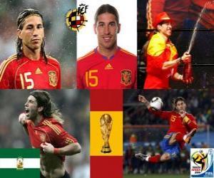 Sergio Ramos (The Indian of Camas) Spanish team defense puzzle
