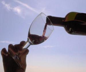 Serving wine puzzle