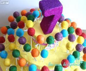 Seventh birthday puzzle