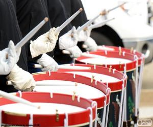 Several drums puzzle