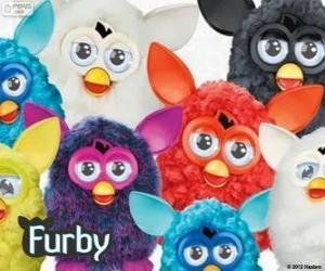 Several Furbys puzzle