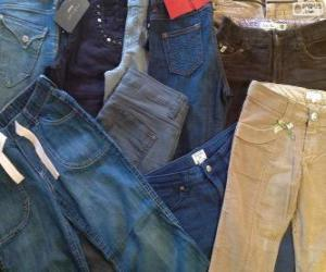 Several pants puzzle