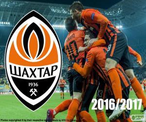 Shakhtar Donetsk, 2016-2017 champion puzzle