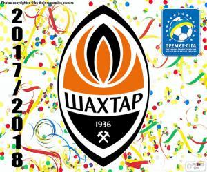 Shakhtar Donetsk, 2017-18 champion puzzle