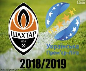 Shaktar Donetsk, 2018-2019 champion puzzle