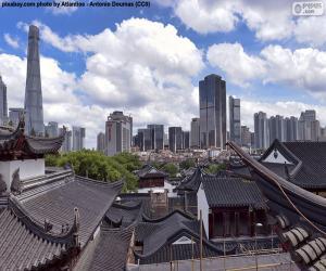 Shanghai, China puzzle