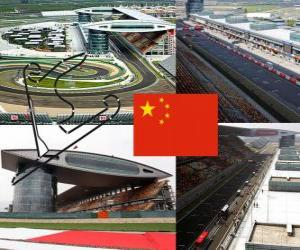 Shanghai International Circuit - China - puzzle