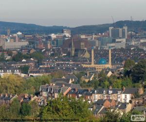 Sheffield, United Kingdom puzzle