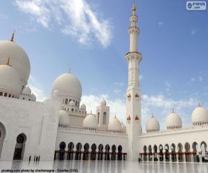 Sheikh Zayed Mosque, Abu Dhabi puzzle