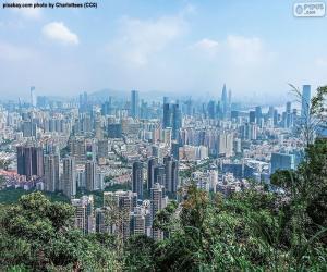 Shenzhen, China puzzle