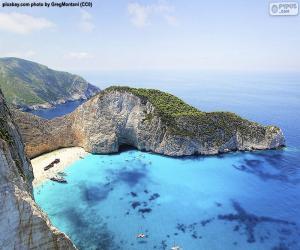 Shipwreck Beach, Greece puzzle