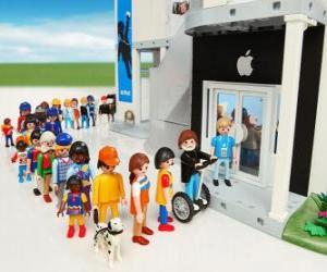 Shop Apple Playmobil puzzle