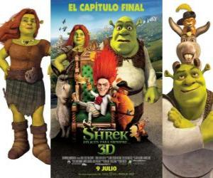 Shrek Forever After puzzle