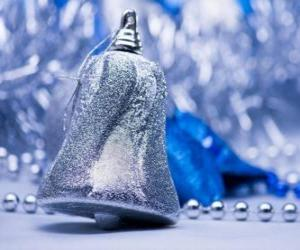 Silver Christmas Bell puzzle