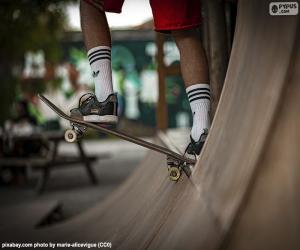 Skateboarding puzzle