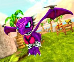 Skylander Cynder, has dark powers due to his past. Undead Skylanders puzzle