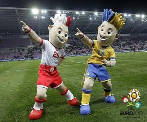 Slavek and Slavko - UEFA Euro 2012- puzzle