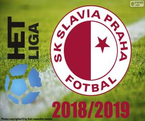 Slavia Prague, champion 2018-2019 puzzle