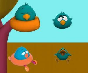 Sleepy Bird is a very sleepy and cranky bird puzzle