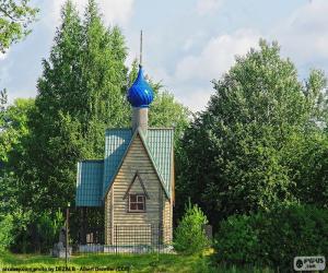 Small chapel, Russia puzzle