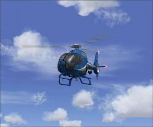Small helicopter puzzle