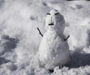 Small snowman puzzle