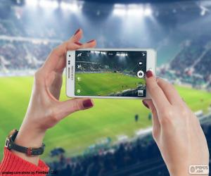 Smartphone, photo puzzle
