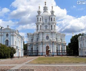 Smolny convent, Russia puzzle