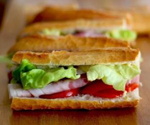 Snack, or sandwich puzzle