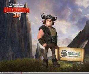Snotlout Jorgenson is the perfect Viking puzzle