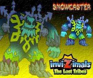Snowcaster. Invizimals The Lost Tribes. The Supreme Lord of Ice, a mystical and powerful sage that lives in the glaciers puzzle