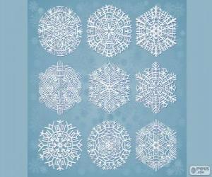 Snowflakes puzzle