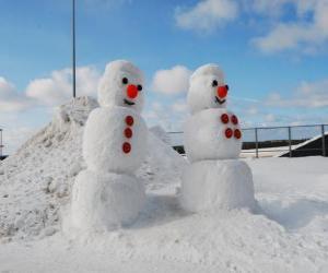 Snowmen puzzle